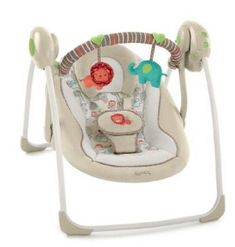 Buy Ingenuity Cozy Kingdom Portable Swing with big discount! Only 9 days. Get Ingenuity Cozy Kingdom Portable Swing with worldwide shipping now! Baby Bouncer, Baby Bassinet, Portable Baby Swing, Baby Swing Walmart, Swings For Sale, Baby Swings And Bouncers, Baby Items For Sale, Swing Design, Children