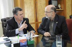 Deputado Luiz Paulo se encontra com Rogério Cabral