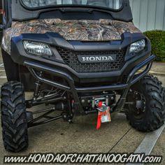 Honda side by side 4 wheeler