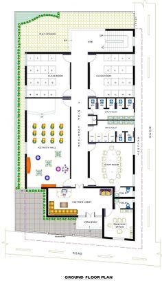 Commercial institutional design school design click for Free floor plan website