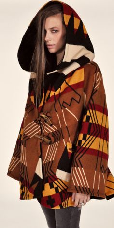 Lindsey Thornburg Hooded Buell Trench Cloak