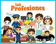 YoSoyInfantil: Las Profesiones.