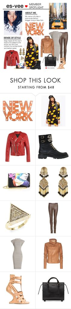 """Member Spotlight: Es-vee"" by polyvore ❤ liked on Polyvore featuring Dot & Bo, Sportmax, Marc Jacobs, René Caovilla, Prada, Etro, House of Harlow 1960, Rick Owens and MemberSpotlight"
