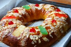 Roscón de Reyes (en kitchenaid)