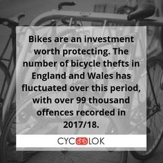 Whether your 🚴 bike 🚴 is your main means of getting around or just a bit of weekend fun, you must look after it to prevent theft. A high quality bike parking and storage is the one and only solution to keep your cycle secure and out of the weather at home, in the garden or at work. 🚴  #BikeParking #BikeLocker #BikeStorage #Bicycle #BikeTheft #CycLok Bike Locker, Parking Solutions, Bike Parking, Bike Storage, Weekend Fun, Investing, Bicycle, Weather, Garden