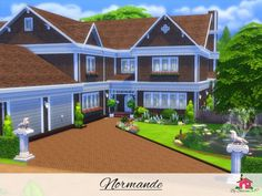 The Sims Resource: Normande - Nocc by sharon337 • Sims 4 Downloads