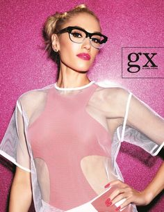 Did you know... Gwen Stefani Launches Debut Eyewear Collection For L.A.M.B.