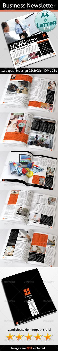 Business Newsletter - Newsletters Print Templates Download here : http://graphicriver.net/item/business-newsletter/4475975?s_rank=342&ref=Al-fatih