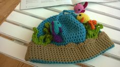 Fishbowl Beanie #Crochet Along - My daughter LOVES this cute #hat!