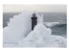 You'll love the 'Phares Dans la Tempête, Kéréon' Photographic Print at Wayfair.co.uk - Great Deals on all Home Décor products with Free Shipping on most stuff, even the big stuff.
