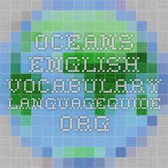 Oceans - English Vocabulary - IWB activity.