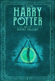 New book cover design harry potter deathly hallows 62 ideas Rowling Harry Potter, Mundo Harry Potter, Harry Potter Movies, Harry Potter World, Harry Potter Movie Posters, Harry Potter Book Covers, Harry Potter Deathly Hallows, Harry Potter Hogwarts, Wallpaper Harry Potter
