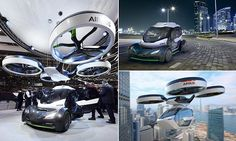 Airbus's Pop.Up aims to put an to end traffic jams. The concept is a capsule that riders order via an app, which functions as a car or is carried by VOTL vehicle when roads are too congested.