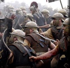 And this time they were joined by a lot of the Roman soldiers, and together, in 476, they all marched on Ravenna.