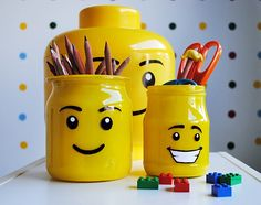anunkblog - Diy lego pencil holder