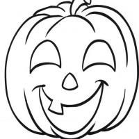 JackOLantern Coloring Page Preschool Ideas Pinterest Pumpkin