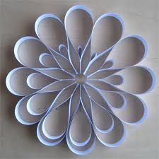 Easy to make paper flower,simple.