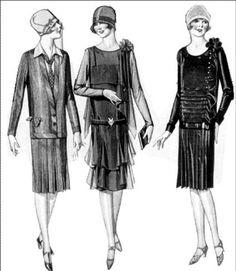 coco chanel roupas croquis - Pesquisa Google