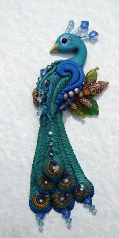 Book 6 Birds of a Feather Peacock for the #FriesenProject by Laurie Grassel