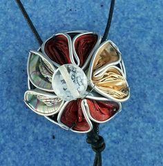 Collana creata con cialde del caffè ~ Mara1000idee