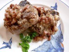 German Style Lamb Chops in Ham Onion Sauce