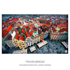 Oh Prague, so nice I've done it twice. Photo shot by Laurie Satran who has worked with TravelBreak in the past... Travel | Wanderlust | TravelBreak.net