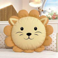 Cute Pillows, Baby Pillows, Kids Pillows, Animal Pillows, Baby Crafts, Diy Crafts For Kids, Kids Diy, Sewing Pillows Decorative, Pillow Crafts