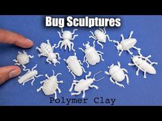 Bug / Insect Sculptures with Polymer Clay // Speed Sculpting