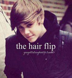 OMG YUSSS I remember when he had his hair flipp<33 now he has his hair fluff at the top of is head<33