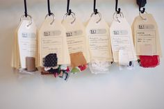 How I organize my fabric stash + free downloadable stash tags!   Colette Blog