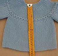 tutorial con video, gráfico e instrucciones de jersey bebé