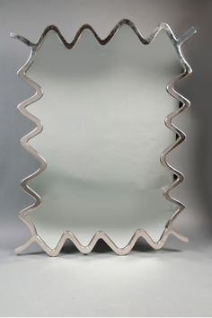 Mirrors can make your room space airy, and the more visible a room, the more spacious it looks. Explore other mirrors options. Funky Mirrors, Cool Mirrors, My Mirror, Simple Furniture, Art Furniture, Unique House Design, New Interior Design, Dream Decor, Accent Decor