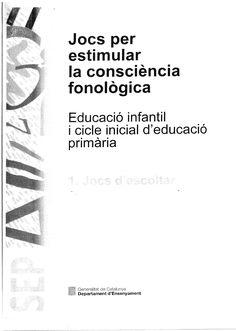 Jocs per estimular la consciència fonològica | Scribd