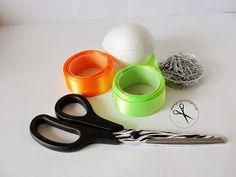 Jak wykonać ozdobne jajka ? Jak wykonać karczochy ? Jajka ze wstążki Measuring Spoons, Diy, Scrappy Quilts, Do It Yourself, Bricolage, Homemade, Measuring Cups, Fai Da Te, Diys