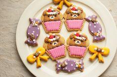 Rilakkuma sugar cookies    #rilakkuma #kawaii #cookie #sweet #food