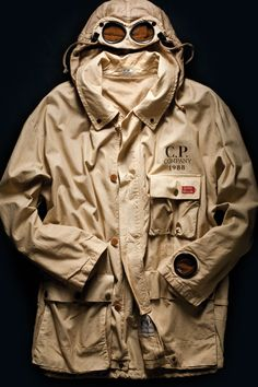 C.P. Company google Jacket, first edition made for 1000miglia race, 1988. #1000miglia #millemiglia
