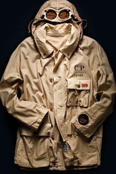 C.P. Company google Jacket, first edition made for 1000miglia race, 1988. #1000miglia #millemiglia