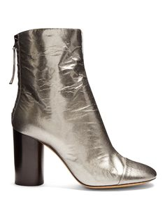 GABRIELLE'S AMAZING FANTASY CLOSET | Isabel Marant Grover crinkle patent-leather ankle boots