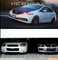 Barry!!! Vtec kicked in yo!!! Bro, we are already home :)