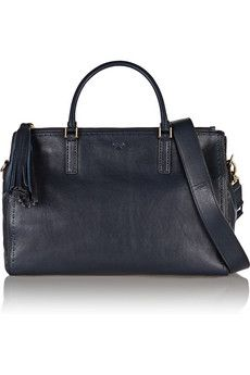 Anya Hindmarch New Pimlico leather shoulder bag | THE OUTNET