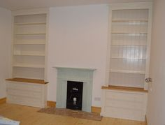 Pair of Full Height Alcove Units
