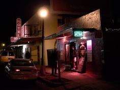 Hotel Vegas and the Gypsy Lounge on East 6th Street Austin, TX