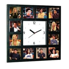 Big Friends TV Show Clock Ross Joey Chandler Rachel Phoebe Monica pictures