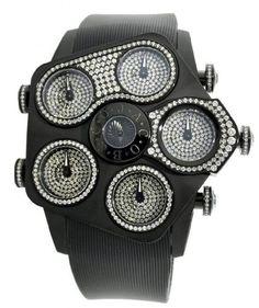 Jacob-Co-Jumbo-Grand-JGR5-24-Black-PVD-395Ct-Diamond-525-mm-Watch-0