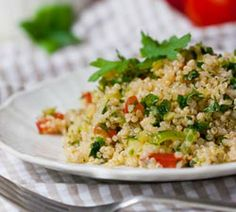 Quinoa Tabouli | Simple Dish | Quick, Easy, & Healthy Recipes for Dinner
