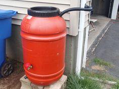 DIY Rain Barrel For $50 Dollars or Less