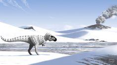 Arctic Tyrant (Nanuqsaurus hoglundi) by MicrocosmicEcology on @DeviantArt