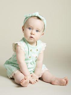 Kate Quinn Kick Pleat Scallop Dress and Ruffle Bum Bloomer