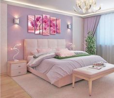 Bedroom - Purple Luxury design Circu offers a vast option of unique and exclusive furniture for kids' bedroom with purple options! See more at CIRCU NET kidsbedroomfurniture Teen Bedroom Designs, Bedroom Decor For Teen Girls, Cute Bedroom Ideas, Bedroom Furniture Design, Room Ideas Bedroom, Modern Bedroom Design, Bedroom Colors, Home Decor Bedroom, Kids Bedroom