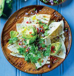 Skinny nachos